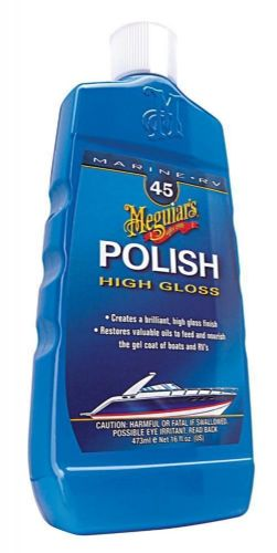 Meguiars Polish No.45 Marine For Boat RV Caravan Fiberglass